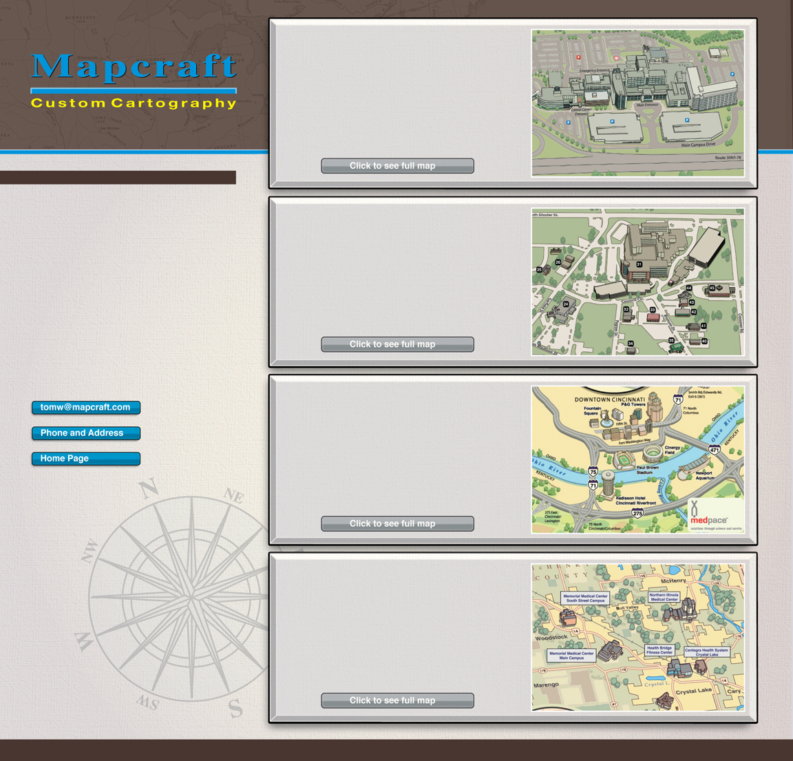 Mapcraft Custom Cartography Medical Campuses